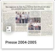 Presse 2004-2005
